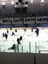 Thunder practice at